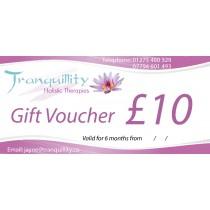 Gift Voucher £10