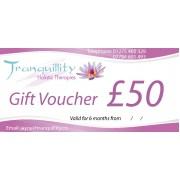 Gift Voucher £50