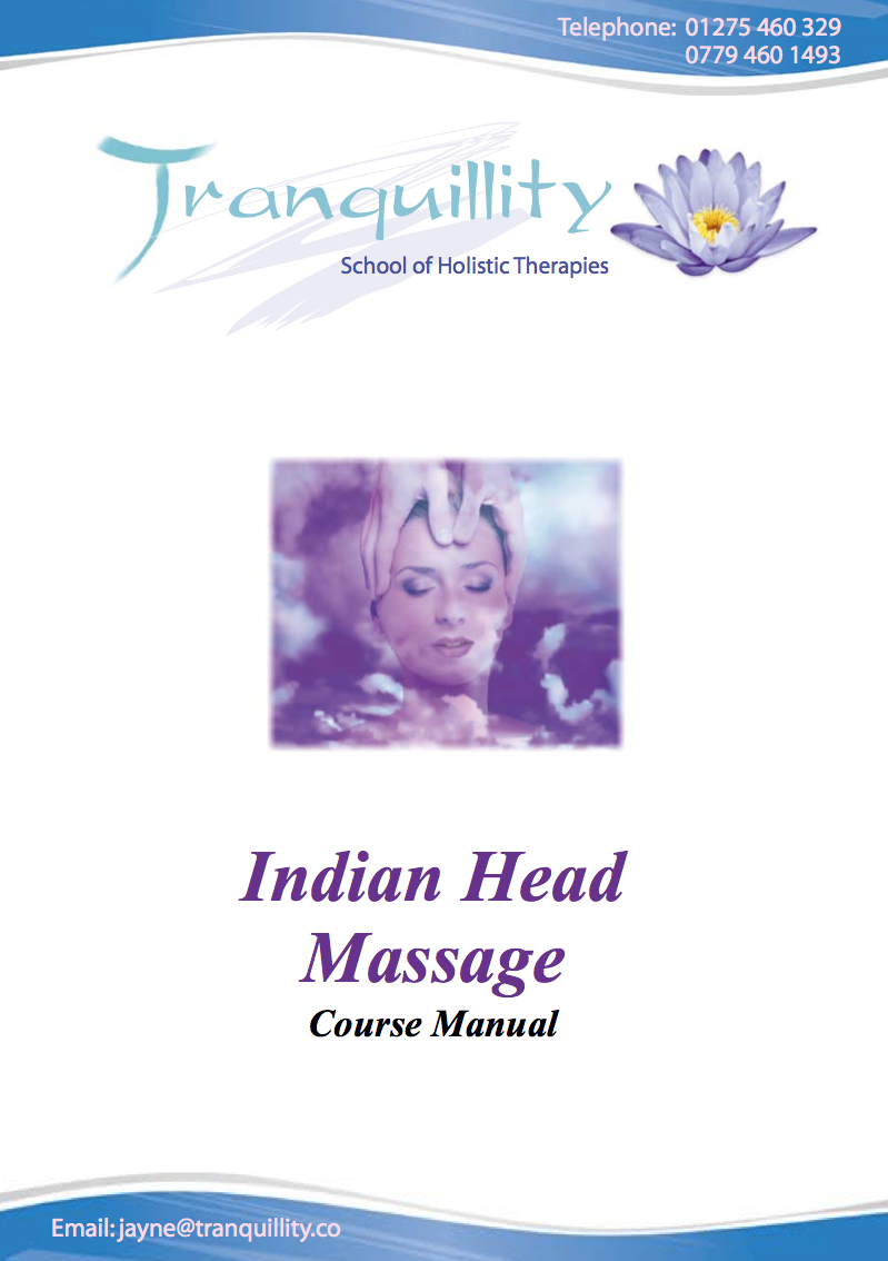 Indian Head Massage Course Manual